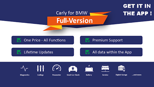 Download Carly for BMW - (New Version) 28.90 APK