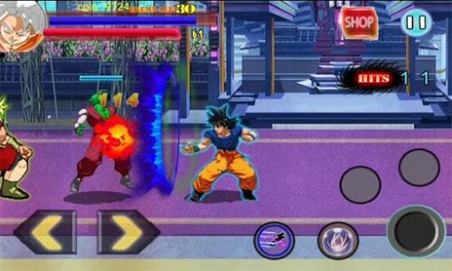 Download instinct Goku Saiyan Greate Battle 1.0 APK