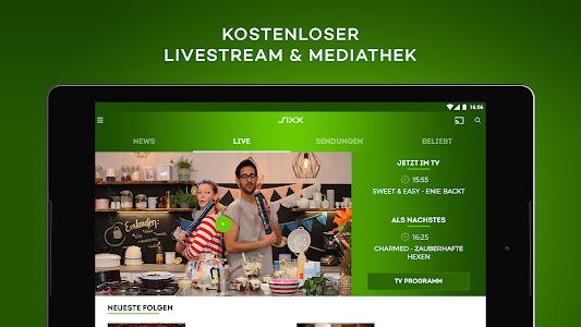 Download sixx – Kostenloses Live TV und Mediathek  APK